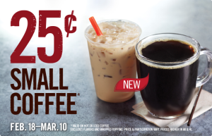 burger king coffee coupon