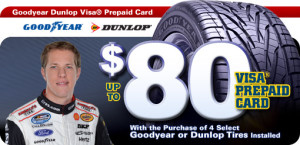 discount tire goodyear dunlop rebate