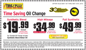 Oil Change And Tire Rotation Coupons Charlotte Nc