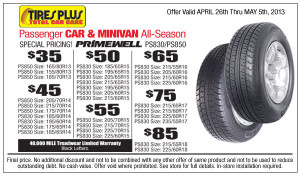 Coupon For Oil Change >> Tire Plus Coupons 2015 | So Many Discounts